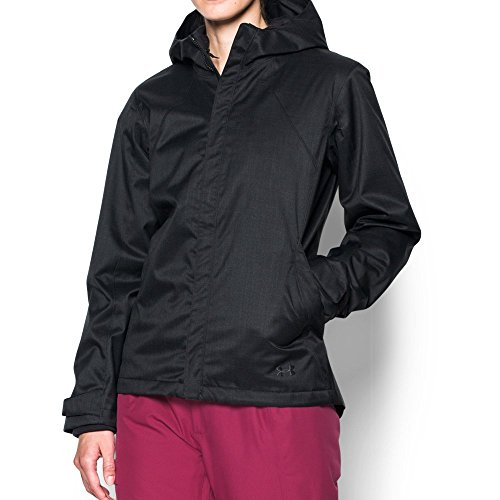 Under Armour Women's ColdGear Infrared Sienna 3-in-1 Jacket , Black (001)/Stealth Gray , X-Small