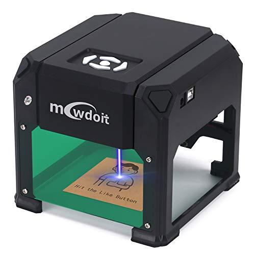 3000 m W Engraving Machine, Mcwdoit Mini Desktop...