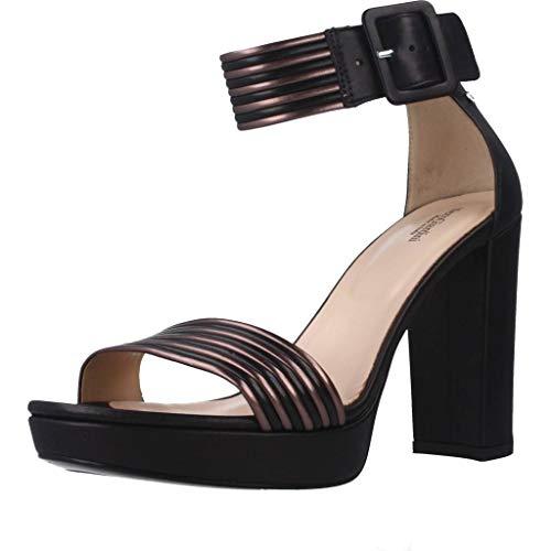 Sandalo da Donna NeroGiardini in Pelle Nero E012203D. Scarpa dal Design Raffinato. Collezione Primavera Estate 2020. EU 38