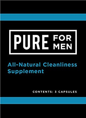Pure for Men - The Original Vegan Cleanliness Fiber Supplement - Proven Proprietary Formula (Single Serving)