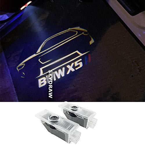 1 paio di luci a LED per portiera dell'auto X5 E70 F15 G05.