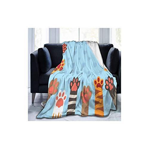 zhengshi berwurfdecke, gelbe Tennisbälle, ultraweiche Micro-Fleece-Decke, 152,4 x 127,7 cm, warme Decke fzhengshi r Herren, Bett, Couch, leichte Decke