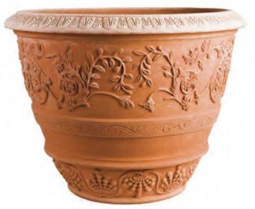 Impruneta Terracotta, Conca Capolavoro, Pflanztopf, Gefäß, Topf
