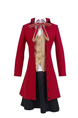Fate/Stay Night Rin Tohsaka Uniform Outfit Cosplay Kostüm Damen M