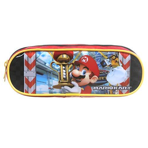 Estojo Soft, 2 Divisões, Super Mario Bros