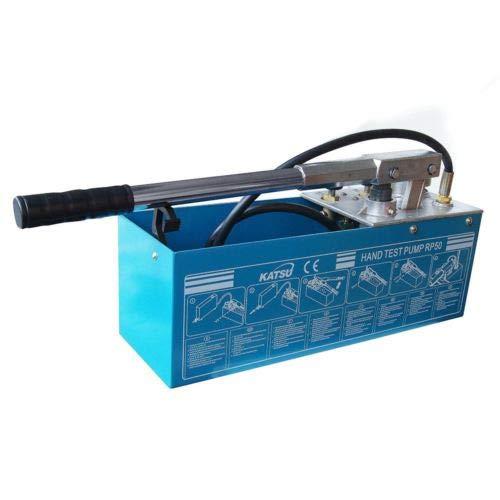KATSU Tools 318923 Wasserdruckpumpe, 0–50 bar, manuelles Drucktestgerät, Mehrfarbig, 12 Litre