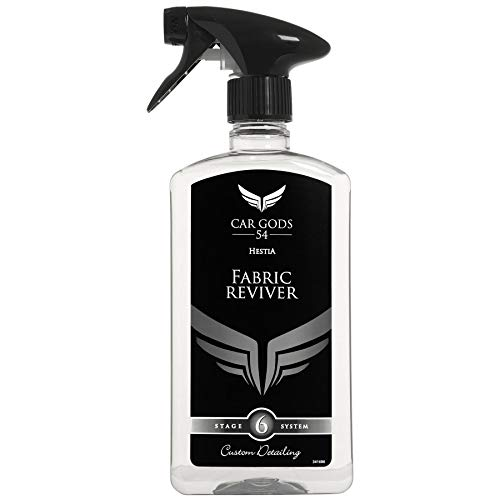 Car Gods Fabric Upholstery and Carpet Cleaner Freshener Reviver 500ml Stain...