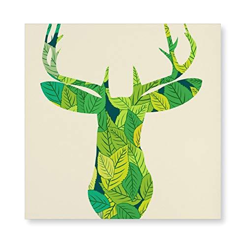 NoNo 3D-Druck Rahmenlose Gemälde Illustration Fiktionale Figur Pflanze Leinwanddruck HD-Druck Benutzerdefinierte Bilder Professionelle Leinwand für Wohnzimmer, Küche und Schlafzimmer