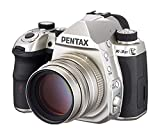 Pentax K-3 Mark III Flagship APS-C Silver Camera Body with Pentax HD 77mmF1.8 Limited Silver Limited Medium telephoto Prime Lens, High-Performance HD Coating,