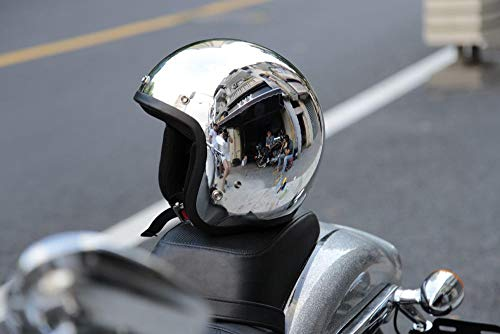 LP Persönlichen Motorrad Retro-reflektierenden Helm Herbst/Winter Fashion Cruise Motorradhelm