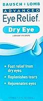 海外直送品Bausch And Lomb Advanced Eye Relief Dry Rejuvenation Lubricant Drops, 1 oz by Bausch And Lomb [並行輸入品]