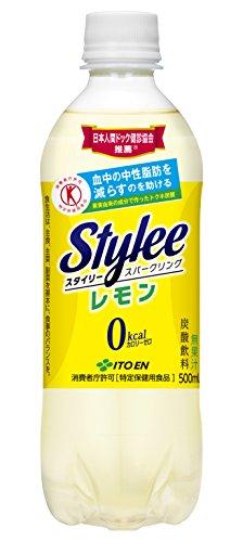 伊藤園 スタイリー スパークリングレモン 500ml×24本
