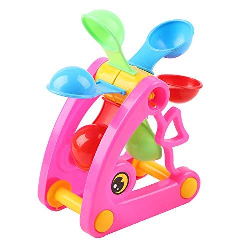 Guajave Los niños de la playa molino de viento rueda de agua juguetes de verano juego de arena de agua piscina baño playa fiesta juguete