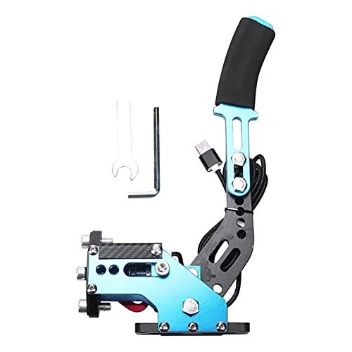 MAOFANG Chengfeng Commodities Sistema de Frenos Sensor Hall Sensor USB Handbrake Sim Ajuste para Juegos de Carreras G25 / 27/29 T300 T500 FANATEC OSW Sucio Rally (Color : Blue)