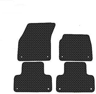 06- AUTOMOTIQUE CORSA EXCITE UNIVERSAL RUBBER MATS HEAVY DUTY