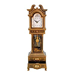 Musicbox Kingdom Grandfather Clock with Well Known Melody is Played Decorative Item