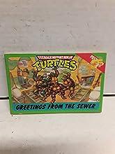 Teenage Mutant Ninja Turtles: Greetings from the Sewer Postcard Book