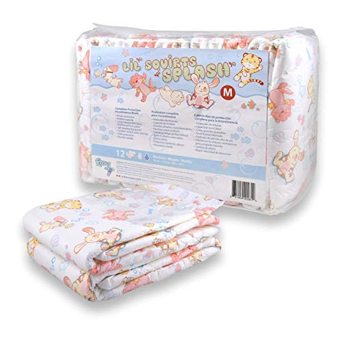 Rearz - Lil Squirts - Splash - V2.0 - Adult Diapers (12 Pack) (X-Large)
