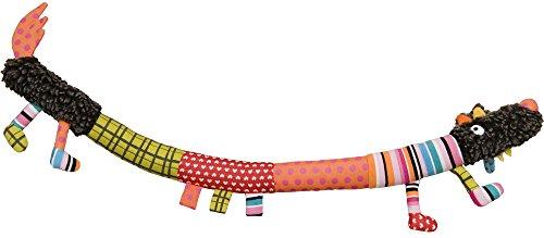 EBULOBO - Hochet D'Éveil Mixte - Saucisse d'Activités Louloup -Taille XXL 65 cm de Long - Hochet Avec Grelot, Pouet Pouet, Papier Bruissant