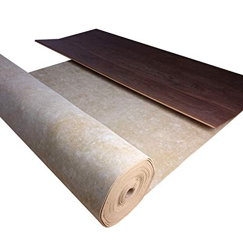 Trittschalldämmung uficell® TOPSONIC AKUSTIK - Trittschallverbesserung 22 dB - Geschallverbesserung bis zu 30% möglich - TOP bei Fußbodenheizung (Stärke: 2 mm, 10 m² | 1 Rolle)