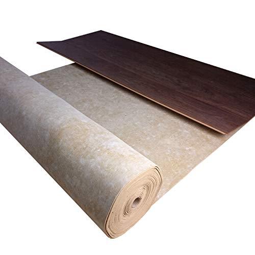 Trittschalldämmung uficell® TOPSONIC AKUSTIK - Trittschallverbesserung 22 dB - Geschallverbesserung bis zu 30% möglich - TOP bei Fußbodenheizung (Stärke: 2 mm, 10 m²   1 Rolle)