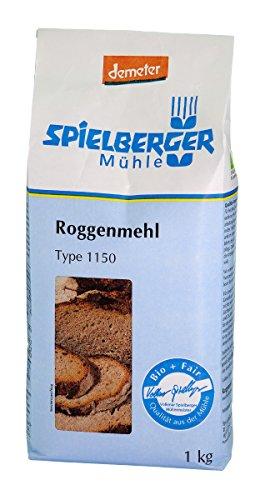 Spielberger Roggenmehl Type 1150 (1 kg) - Bio