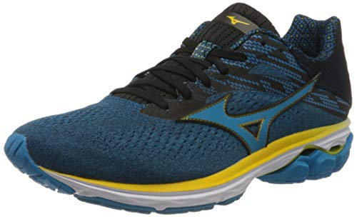 Mizuno Wave Rider 23, Scarpe Running Uomo, Blu (Jewel/Blue Jewel/Black 20), 42.5 EU