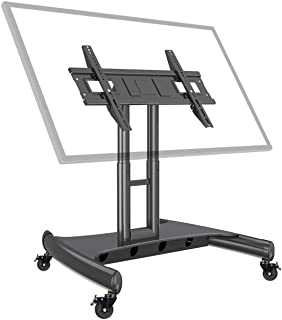 "NB North Bayou Mobile TV Cart for 32-70"" LED Touch Screen TV Stand for All-in-One Computer Portrait Screen with Load Capac..."