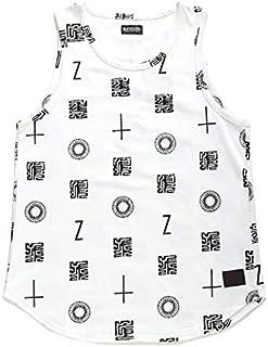 【Z17UG04】 ゼファレン Zephyren バスケットボールシャツ タンクトップ ゲームシャツ ノースリーブ 大きいサイズ