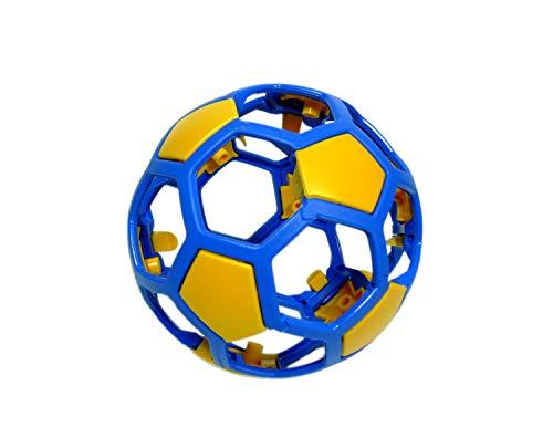 Trendfinding Q Ball Blau Gelb Unzerbrechlich Powerball Puzzle