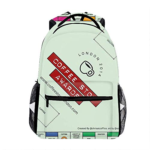 Outdoor Travel Monopoly V09 Map Backpack Bag Large Capacity For Men and Women