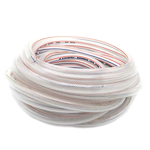 ZTMN tuinslang PVC wanddikte 2,5 mm zonnebrandcrème Explosie Proof antivries vier seizoenen 50m waterpijp (Maat: 19MM 50M)
