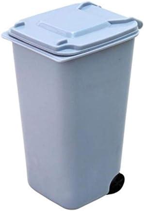 Rosso JohnJohnsen Mini qualificato Delicato Trash Delicato Spazzatura Auto pu/ò Veicolo bidone della Spazzatura Polvere del Supporto della Cassa Spazzatura