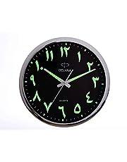 Dojana Wall Clock, Dwg146-Light Brown-Black(English)