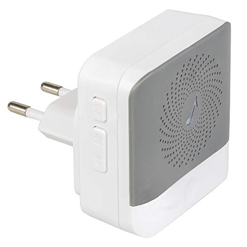 Safe2Home® 1x Innenklingel 230 V Zusatz für Türklingel Kamera kabellos