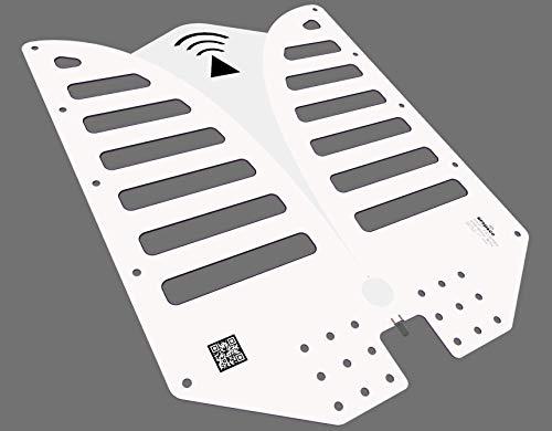 RFSPACE TSA400 Ultra Wide Band IoT Antenna 375 MHz - 6 GHz for UWB TX/RX SDR Radar IOT GPR SIGINT EMC Test ADSB WiFi FVP Drone Video Vivaldi Antenna