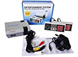 Classic Mini Retro Game Console, Built-in 620 video games Plug and Play, Childhood TV Game Box Game Player with 2 Joysticks, Happy Childhood, Best Gift for Kids & Adults, AV Output