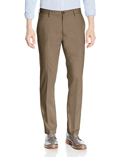 Amazon Brand - Goodthreads Men's Slim-Fit Wrinkle-Free Comfort Stretch Dress Chino Pant, Taupe, 31W x 30L