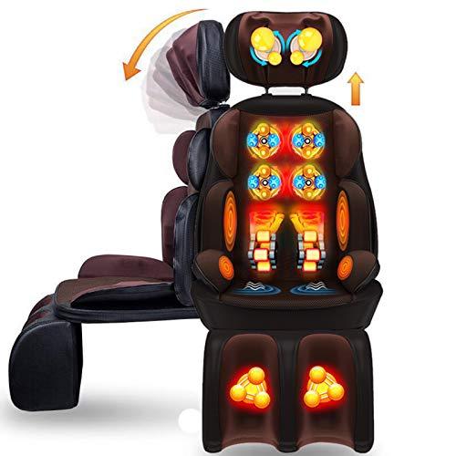 Massaggio Shiatsu Pad Seduta Massaggiante, Massaggio Cervicale Regolabile in Altezza Adatto a...