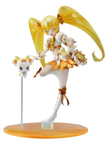 HeartCatch PreCure / Pretty Cure Excellent Model Figurine / Statue: Cure Sunshine (Megahouse) 18 cm