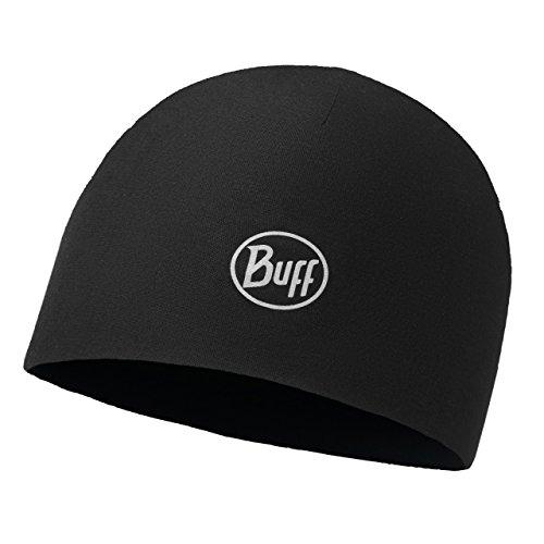 Buff Erwachsene Mütze Microfiber 2 Layers, Schwarz, One Size