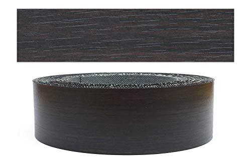 Mprofi MT® (5m rolle) Melaminkantenumleimer Umleimer mit Schmelzkleber Eicher schwarz Pore 45mm 623/45/5