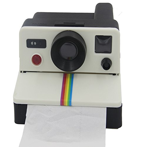 MUMENG Retro - Style Polariod Creative Kamera Toilettenpapier-Box Toilettenpapierhalter Feuchttuchbox Wasserdichte Toilettenpapierhalter Taschentuchspender Tücherbox Kosmetiktücher Kosmetiktücherbox