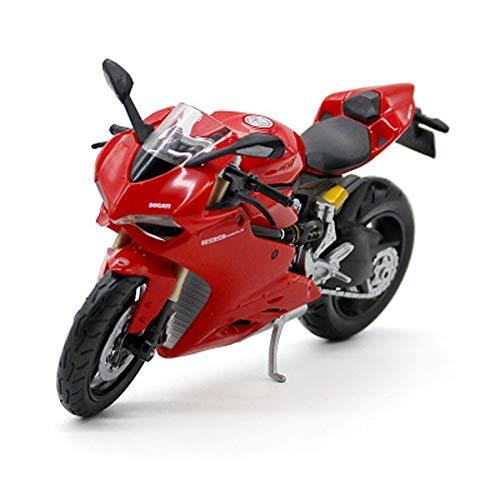 Modelo de la Motocicleta uno y Doce de fundición a presión de aleación Modelo de simulación de la Motocicleta de Juguete Adornos de joyería Colección De 18x7.5x9cm