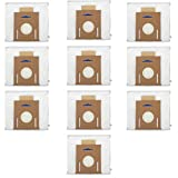 PIGUOAT 10 Pack Replacement Vacuum Filter Bags for Ecovacs DEEBOT OZMO T8 AIVI T8 Max and T8 Series Robot Vacuum Cleaner