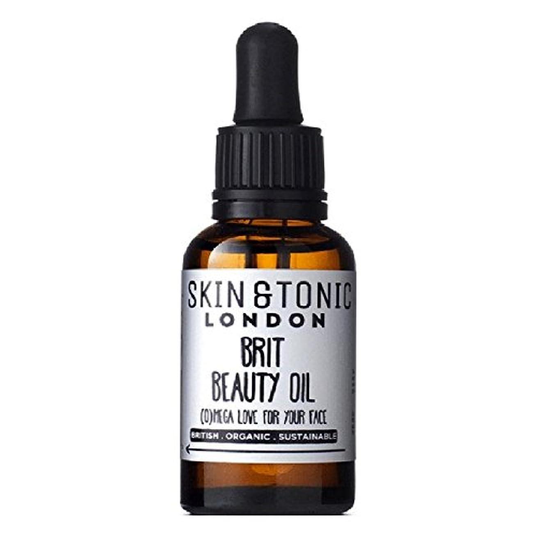 ボーカル小麦ブランド名Skin & Tonic London Brit Beauty Oil 30ml (Pack of 6) - スキン&トニックロンドンブリット美容オイル30ミリリットル x6 [並行輸入品]