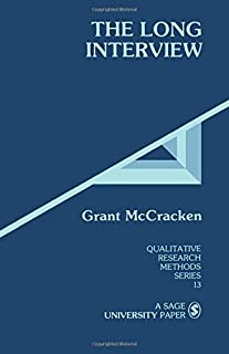 The Long Interview (Qualitative Research Methods)