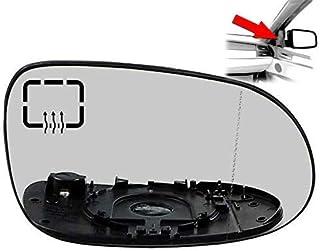 Spiegelglas Spiegel Glas Rechts Beheizbar Weitwinkel Beifahrerseite Seitenspiegel Aussenspiegel Für A Classe W168 CLK W208 SLK R170 SL R129