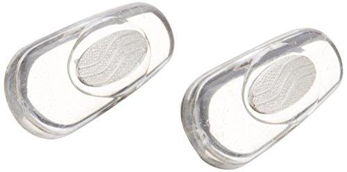 鼻パット(シリコンタイプ)箱蝶極小(しずく型)[銀色] 2ペア