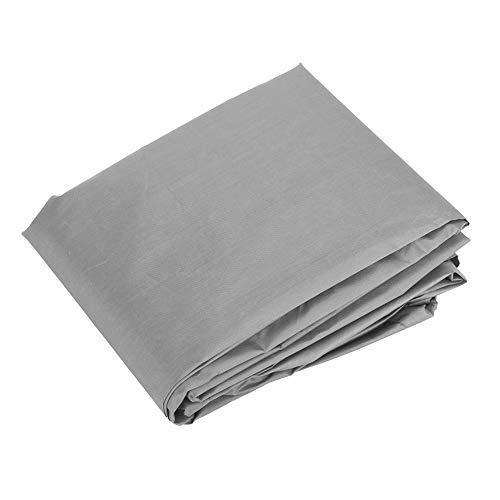 Silla Cubrir, Amplio Cubrir Muebles Protector 61 X 56 X 64cm 190 Plata Poliéster Lágrima Resistencia por Exterior Usar